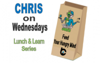 Feed Your Hungry Mind ~ Lunch & Learn Wednesdays
